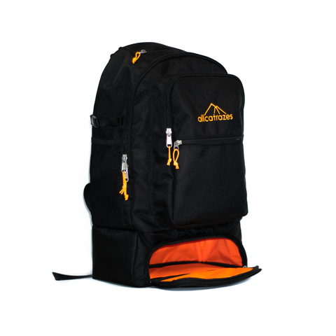Allcatrazes Daypack | Black/Orange