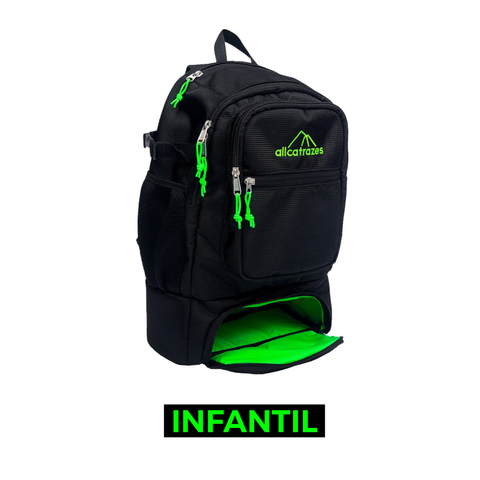Barra Limpa Backpack | Black/Green