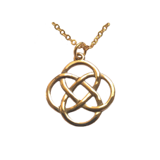 St.Justin Bronze Four Direction Pendant