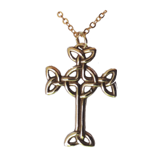 Bronze Celtic Cross
