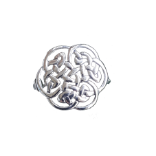 Dainty Celtic Knot Brooch