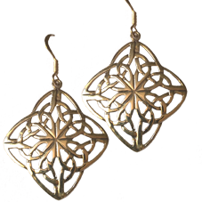 Large Celtic Knot Earrings