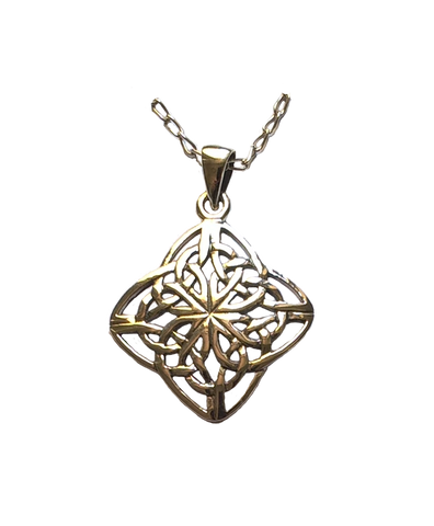 Large Four Directions Celtic Pendant