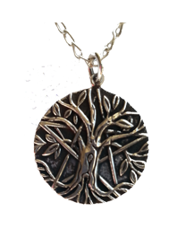 Pentagram Tree of Life Pendant