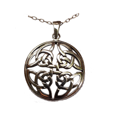 Large Four Directions Celtic Knot Pendant