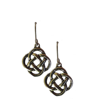 St.Justin 4 Directions Knot Earrings