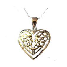 Celtic Heart Knot Pendant