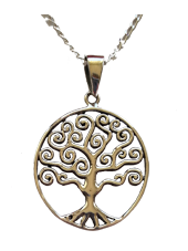 Tree of Life - Round Pendant