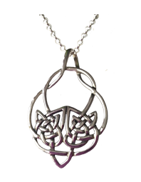 Large Celtic Knot Pendant