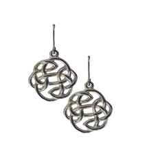 Lugh's Knot Pewter Earrings