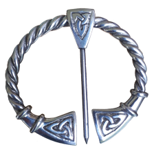 Large Pewter Penannular