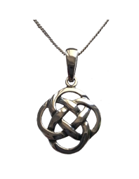 Simple Weave Knot Pendant
