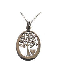 Tree of Life Pendant with Heart