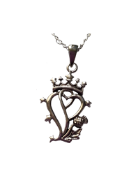 Luckenbooth Pendant
