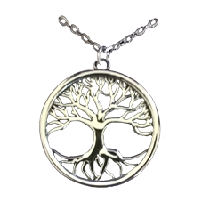 St.Justin Pewter Tree of Life