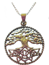 Chunky Tree of Life Pendant