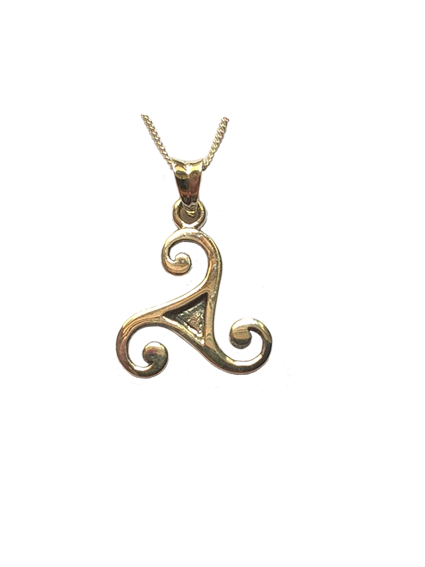 Traditional Triskele Pendant