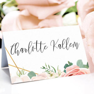 Glamorous Place Card