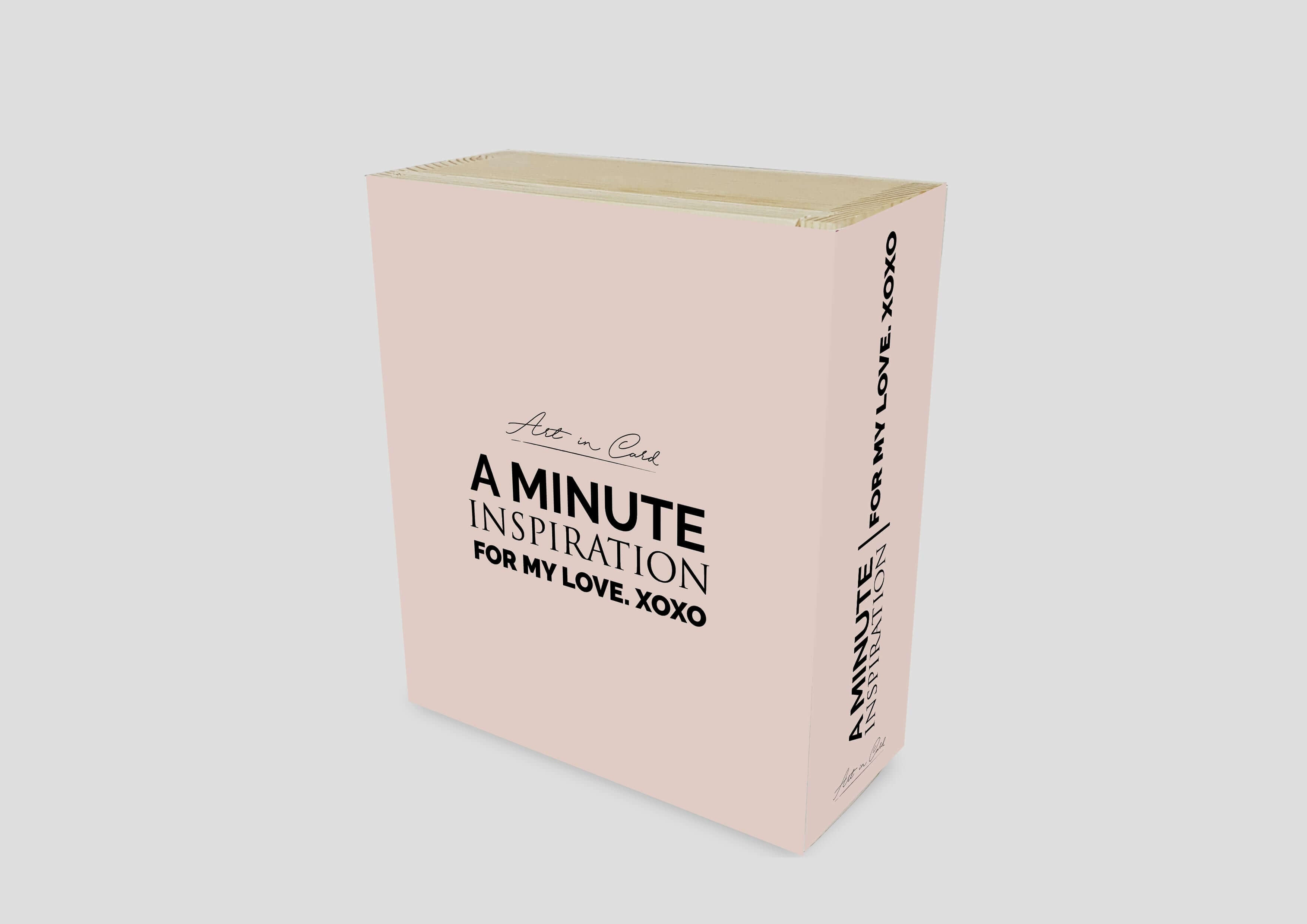 A Minute Inspiration - For My Love Quotes Card Set