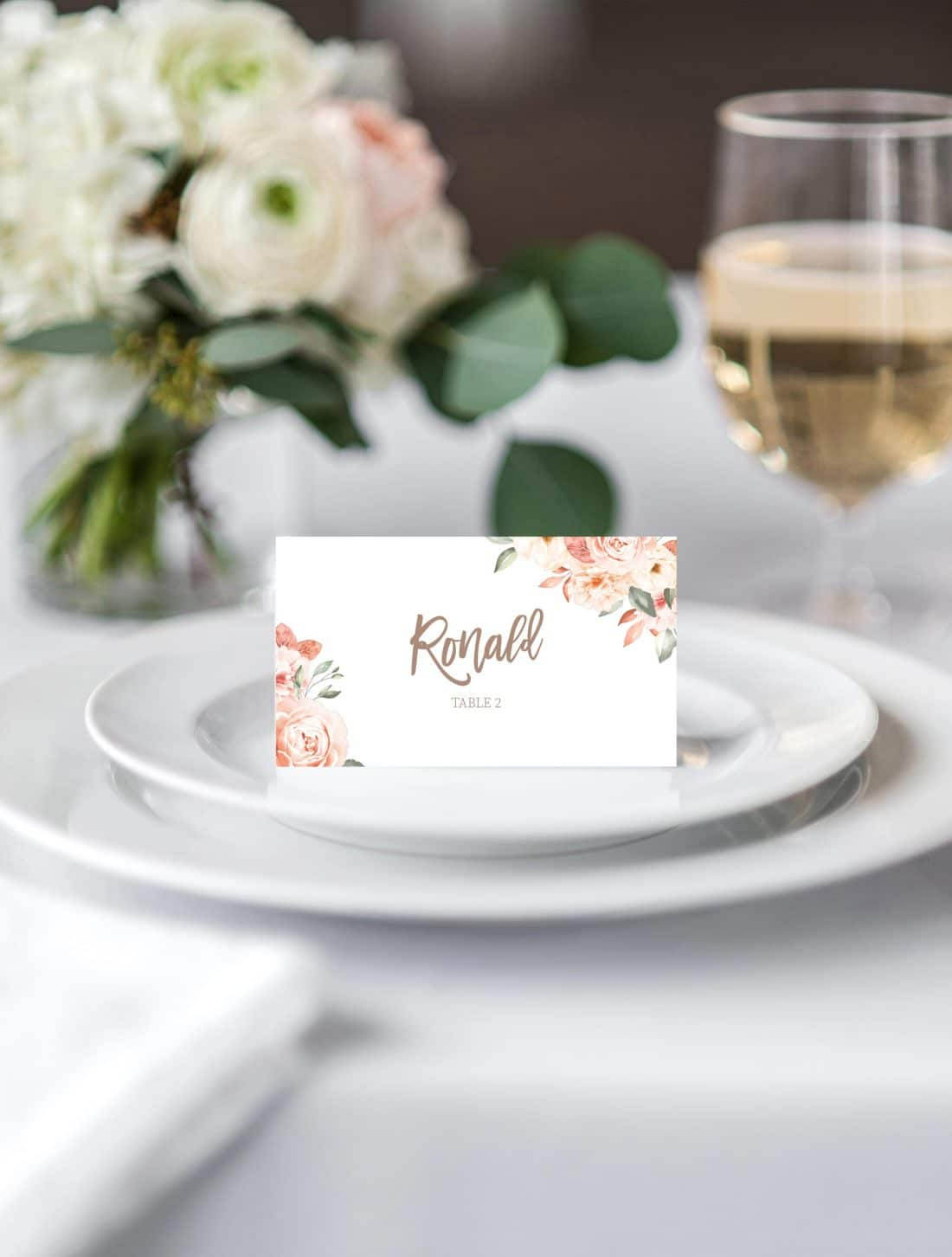 Tie The Knot Place Card