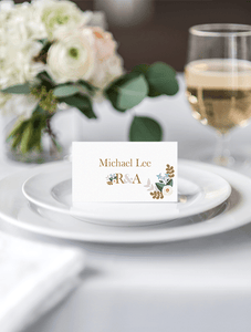 Pastel Love Place Card