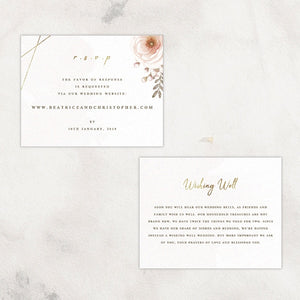 Graceful RSVP / Info Card