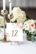 Tie The Knot Table Number