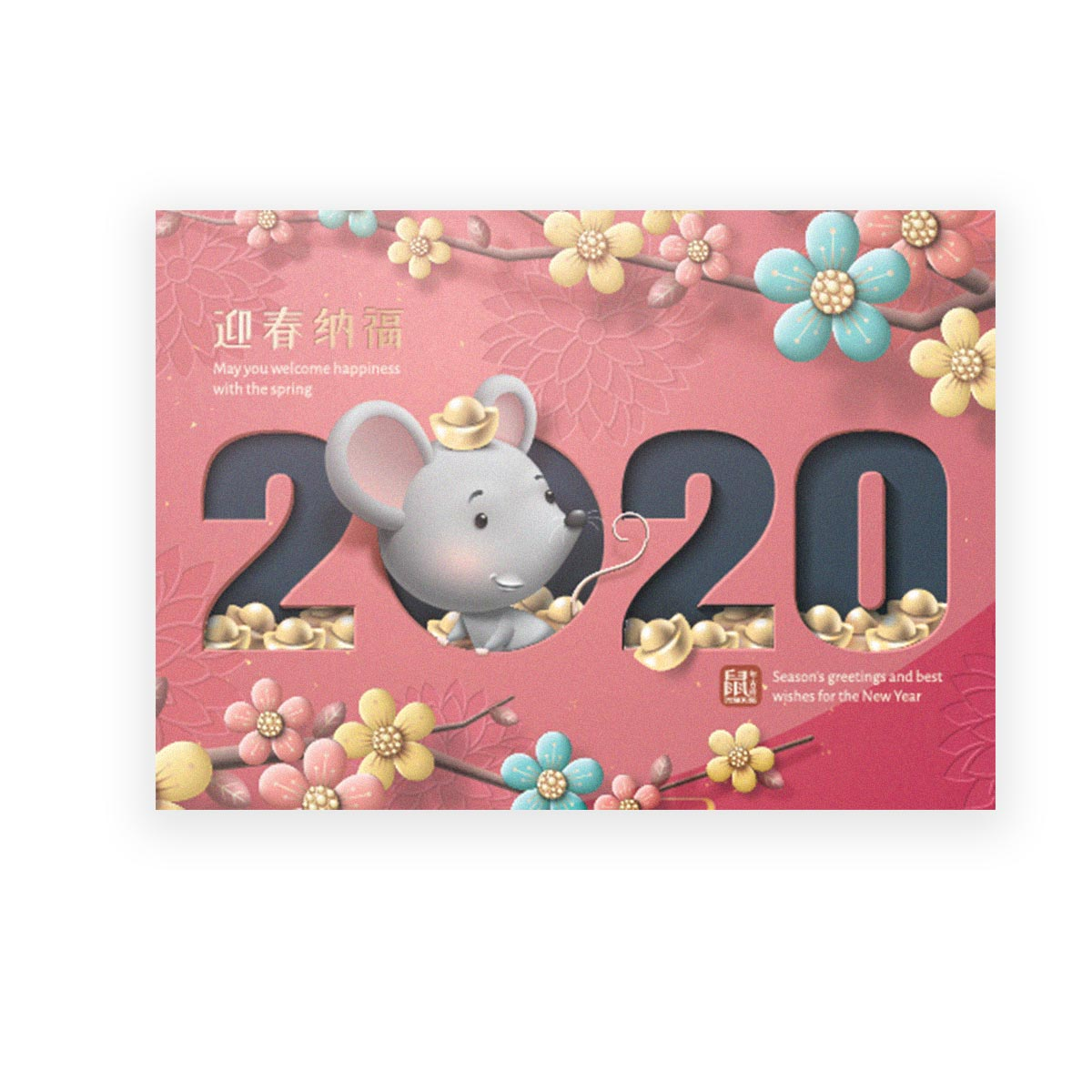 Colorful Year Of Mouse