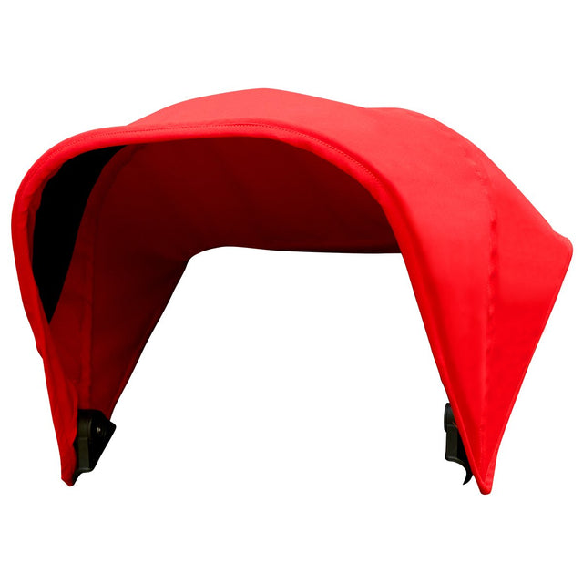 Mountain Buggy MB mini replacement sun hood in red chilli_chilli