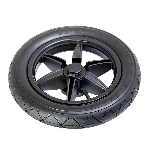 Mountain Buggy wheel close up for terrain buggy for replacement 12 inch wheels in black_default