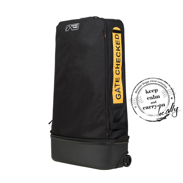 keep calm and carry on with Mountain Buggy travel solution travel bag_black