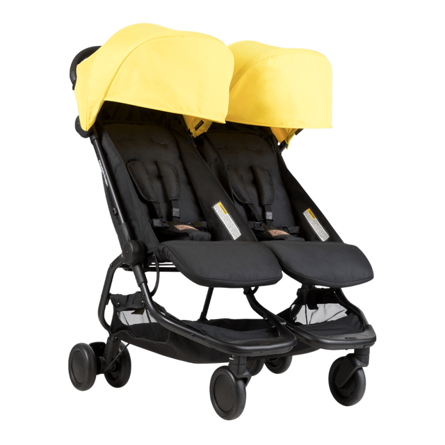Mountain Buggy nano duo double lightweight buggy in colour cyber_cyber
