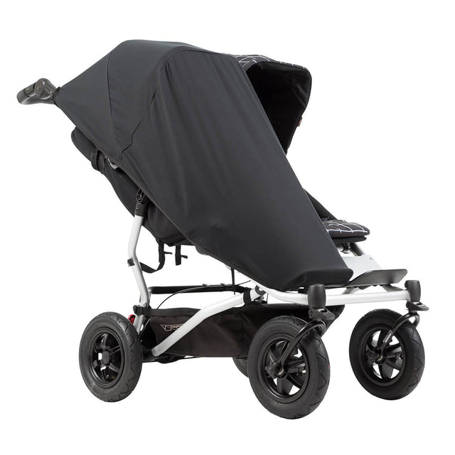 Mountain Buggy duet single custom fit black out cover_default