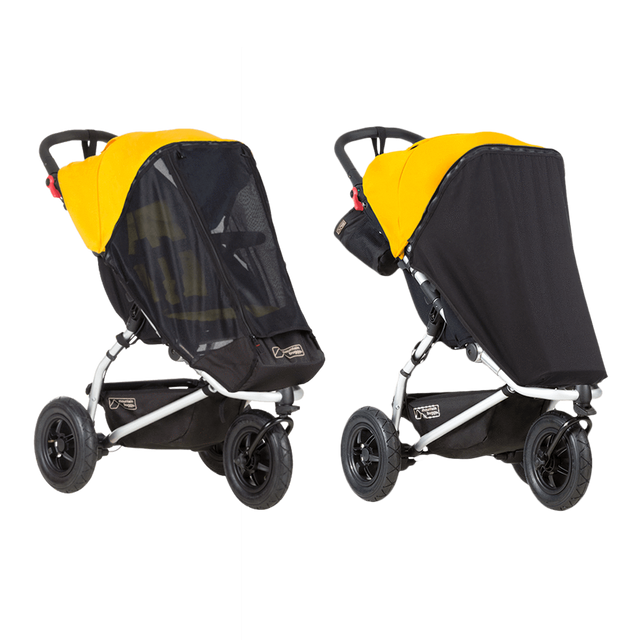 Mountain Buggy custom fit swift and mini sun mesh cover_default