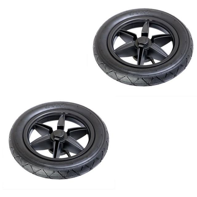 Mountain Buggy 2 x wheels for terrain buggy for replacement 12 inch wheels in black_default