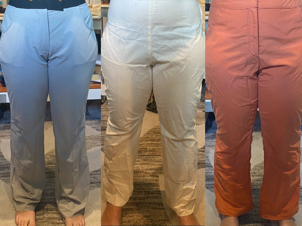 Iterations of the pants.