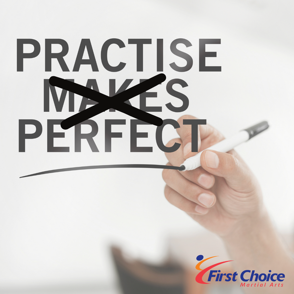 Practise Does Not Make Perfect