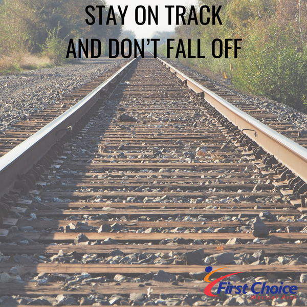 Stay on Track and Don't Fall Off