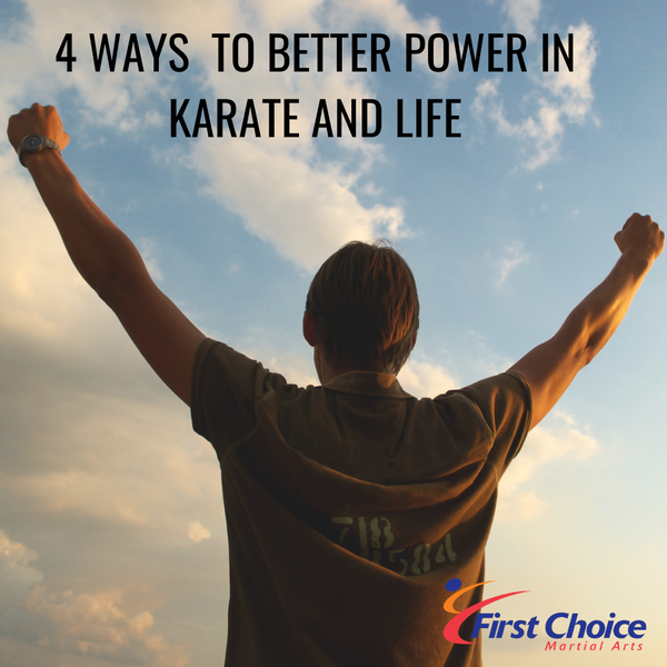 4 Ways to Power in Karate and Life