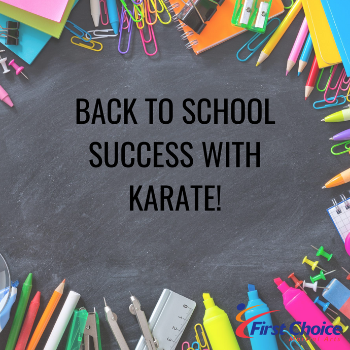 Back to School Success with Karate