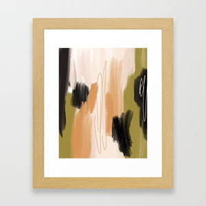 The In-Between (Enneagram Type 5 Abstract Art Print)