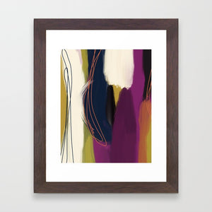 Everywhere Inspired (Enneagram 7 Abstract Art Print)