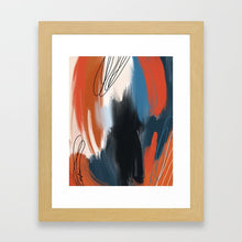 Load image into Gallery viewer, The Boldness of Bleeding Hearts (Enneagram 8 Abstract Art Prints)