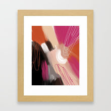 Load image into Gallery viewer, The Protecting (Enneagram 6 Abstract Art Print)