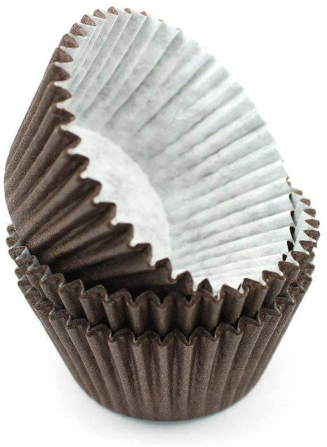 Chocolate Brown Cupcake Cases 360 pack - The Artisan's Choice