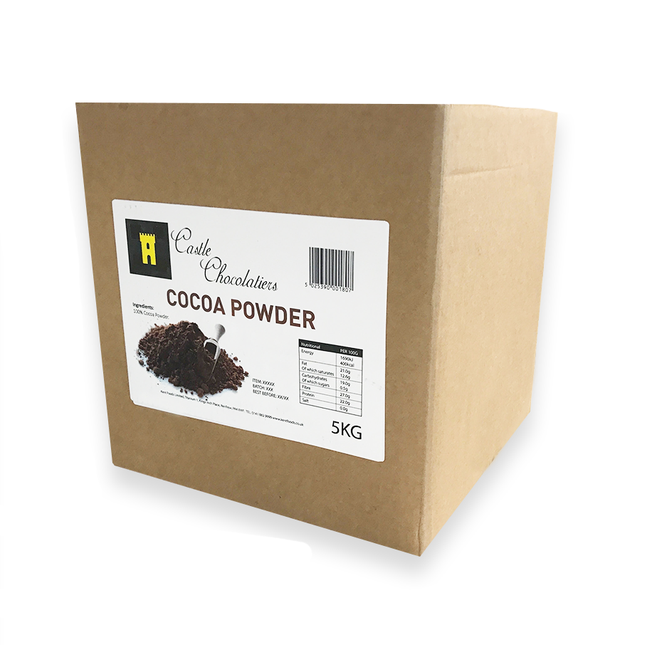 Castle Chocolatiers (20/22) Cocoa Powder 5kg - The Artisan's Choice