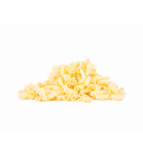 Smet White Chocolate Curls (9mm) 4kg - The Artisan's Choice
