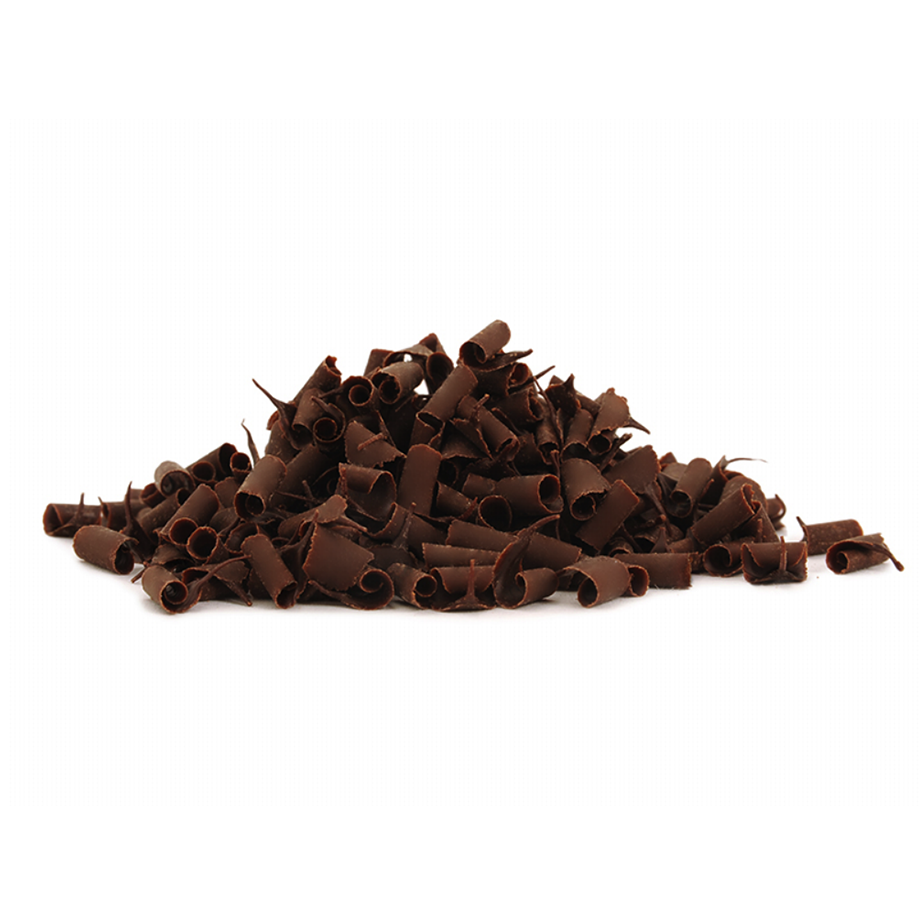Smet Dark Chocolate Curls (9mm) 4kg - The Artisan's Choice
