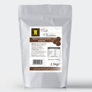 Continental Castle Chocolatiers Milk Chocolate Drops 2.5kg