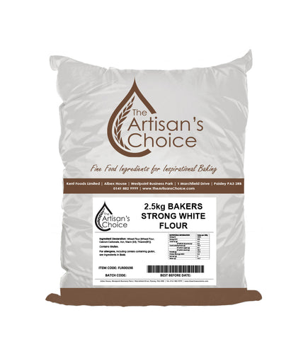 Artisan's Choice Bakers Strong White Flour 2.5kg